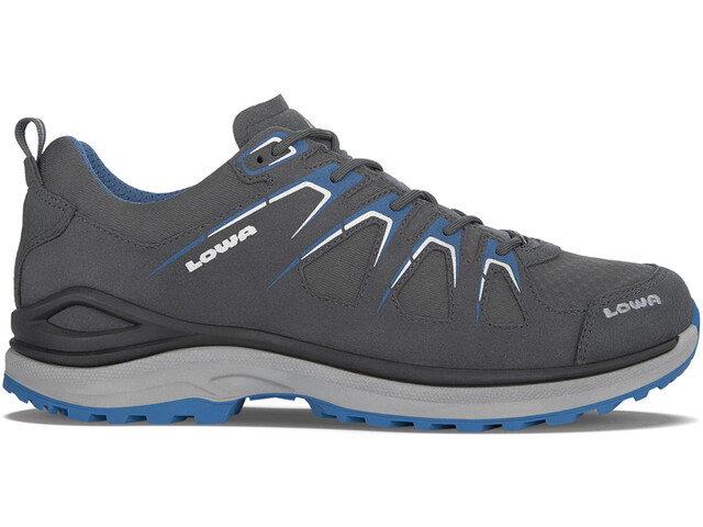 Lowa Innox Evo GTX Zapatillas bajas Hombre, asphalt/blue
